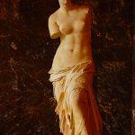Picture of Venus de Milo in Louvre Museum Paris