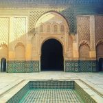 Picture of Ben Youssef Madrasa Marrakech
