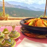 Picture of traditional Berber Village tagine meal in Atlas Mountains