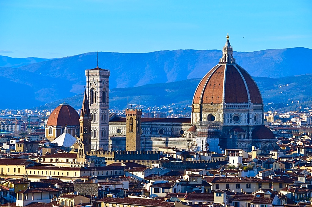 Picture of Florence Duomo from Piazzele Michelangelo