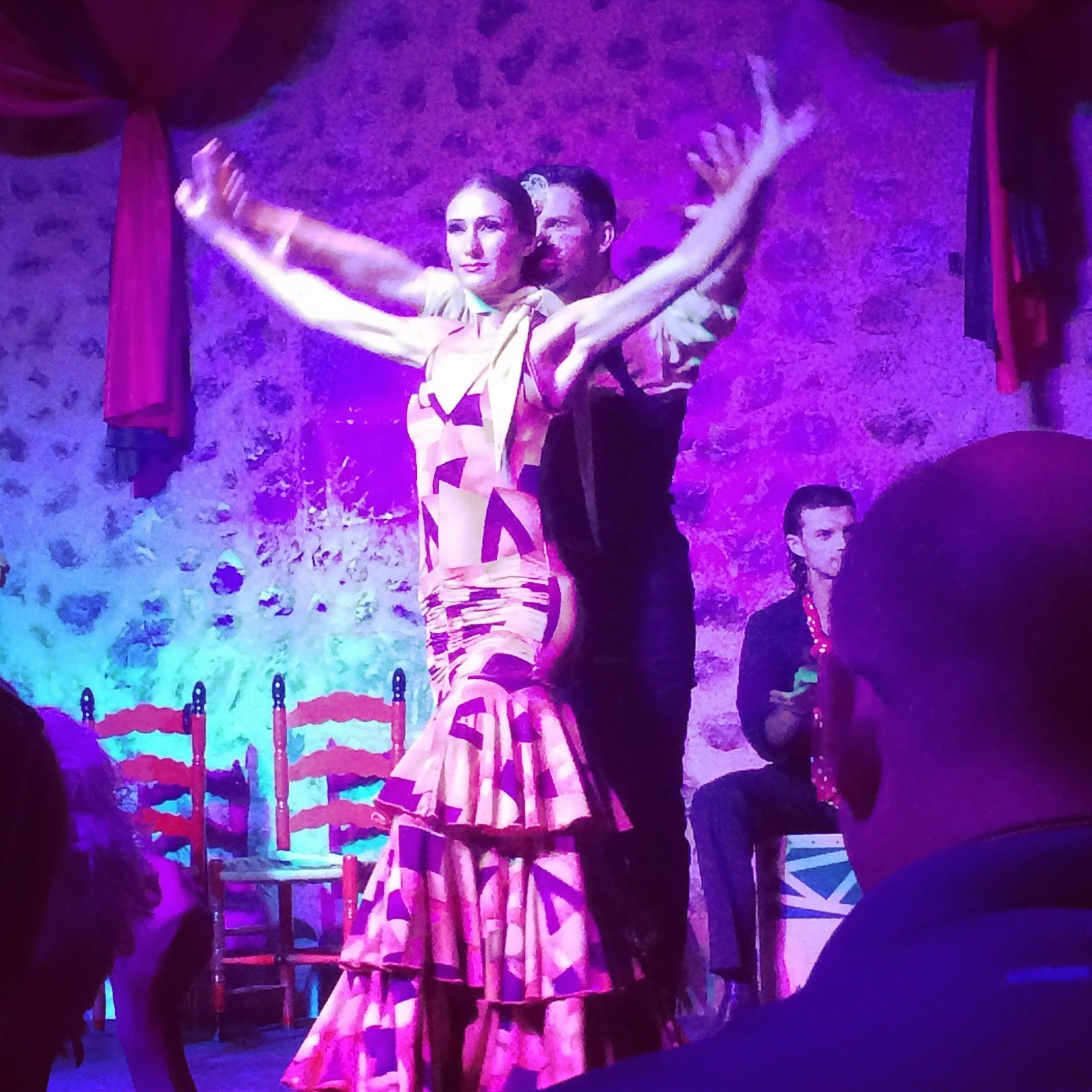 Picture of traditional flamenco dancers at Son Amar Mallorca