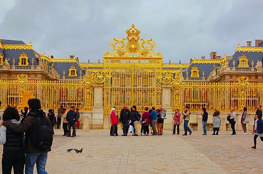 Picture of Versailles Palace Main Gate