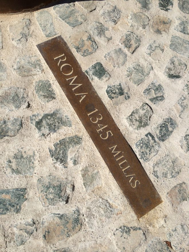 Picture of Rome Direction Sign