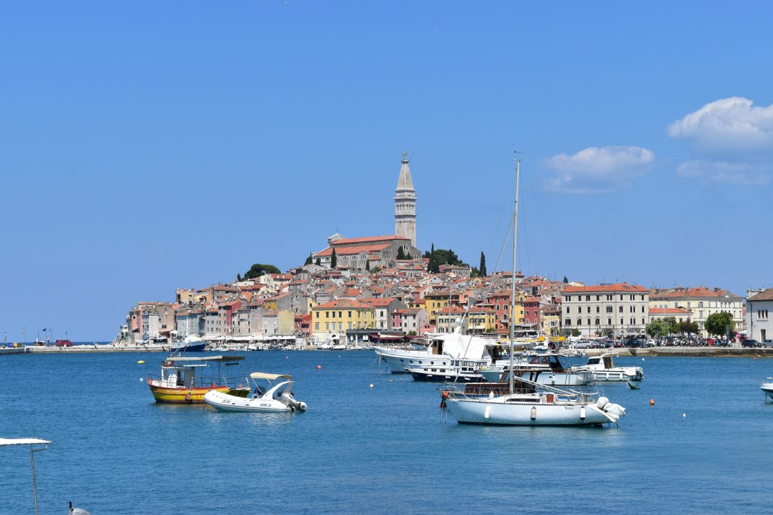 Picture of the seaside town of Rovinj Croatia
