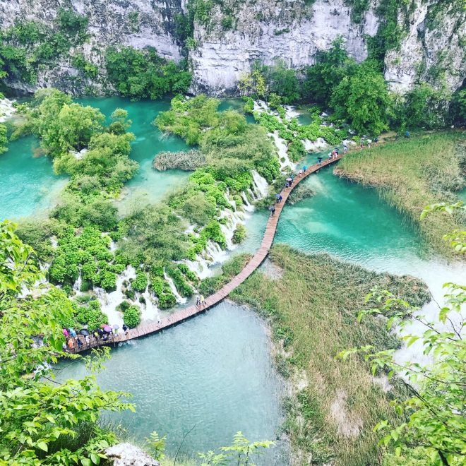 Picture of Plitvice National Park Lower Lakes