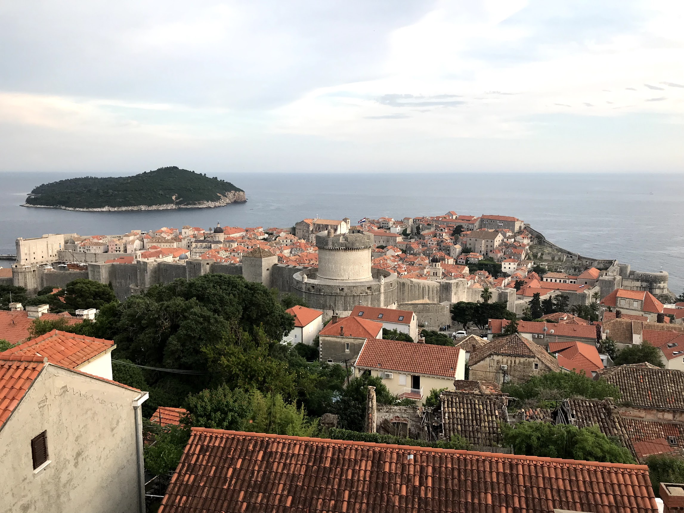Picture of Dubrovnik and Lokrum