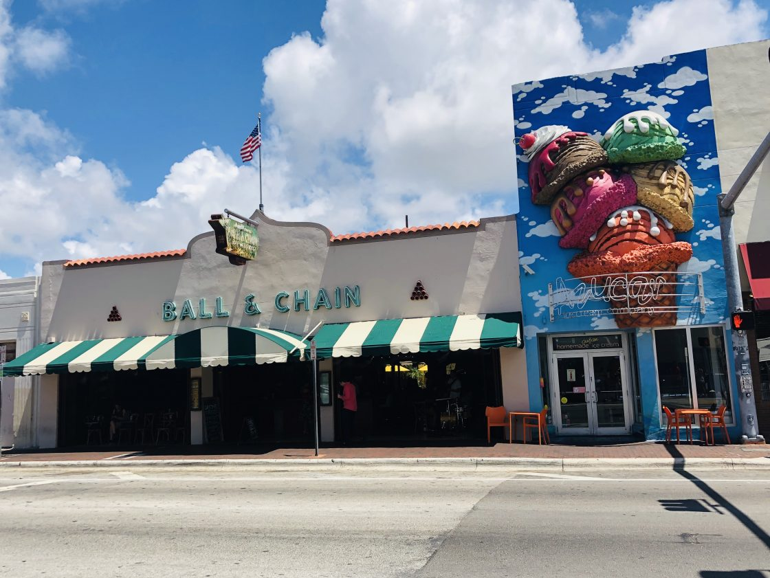 Picture of Ball and Chain and Azucar in Little Havana
