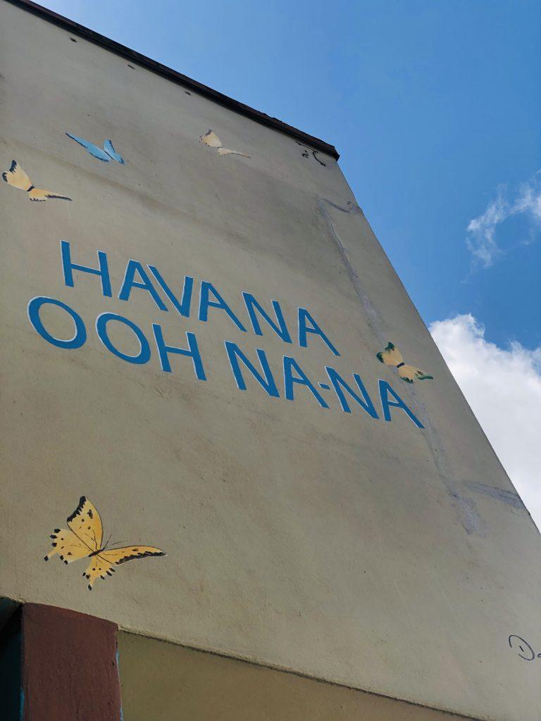 Picture of words Havana Ooh Na-Na