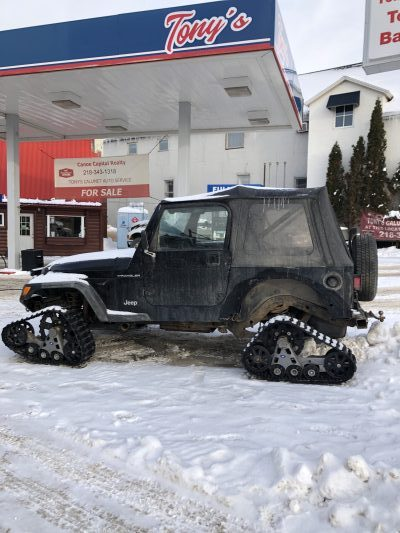 Picture of Snow Jeep